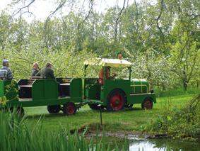 Visite en tracteur de la ferme