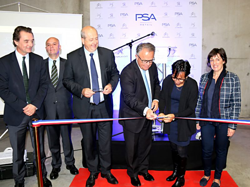 Inauguration de la Plateforme PSA Retail à Yerville