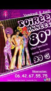 Soirée Cabaret Années 80′