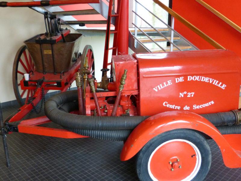 Le RAM rend visite aux pompiers