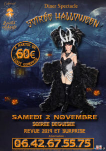 "Dîner spectacle ""Soirée Halloween"""