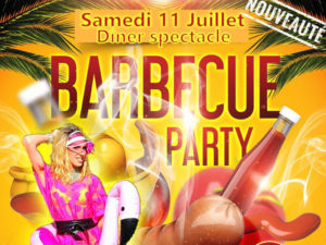 Soirée Barbecue Party au Cabaret Le Puits Enchanté