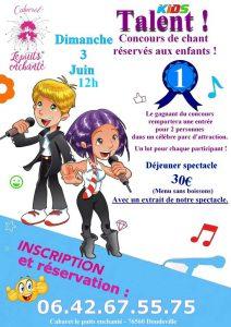 Concours de chanson Kids Talent !