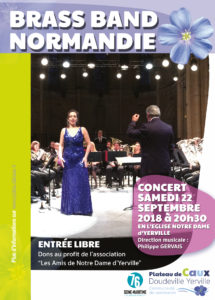 Concert BRASS BAND NORMANDIE à Yerville